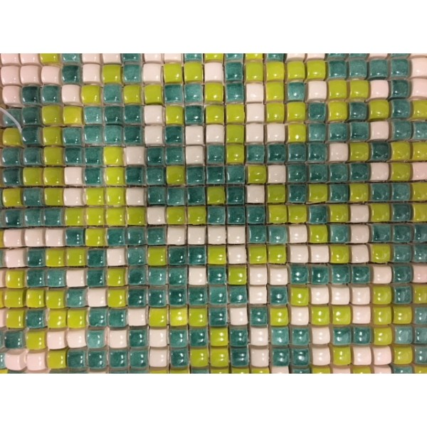 mosaico cm 1x1 mix colori